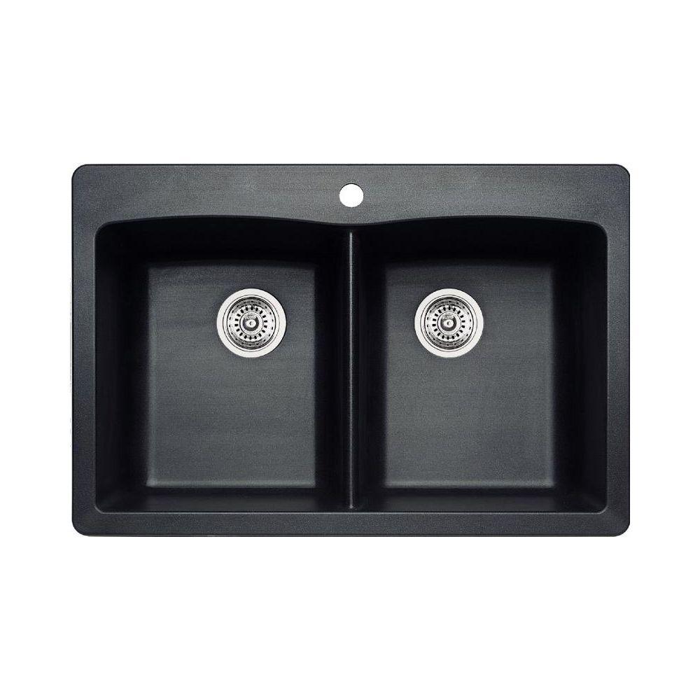 blanco 400056 diamond 210 drop in double kitchen sink