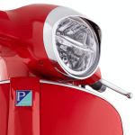 Headlamp Ring W Visor Gts 300 Hpe Chrome Vespa Toronto West