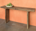 Homart Arcadia Console Table Reclaimed Wood Areohome