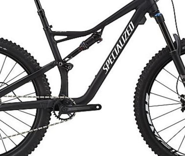 Specialized Specialized Stumpjumper Fsr Comp  Black White Bicycle