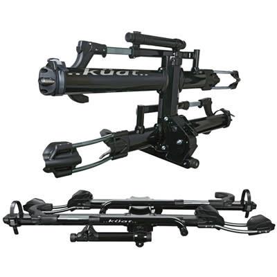kuat nv 2 0 hitch bike rack 2 bike 2 receiver metallic black chrome