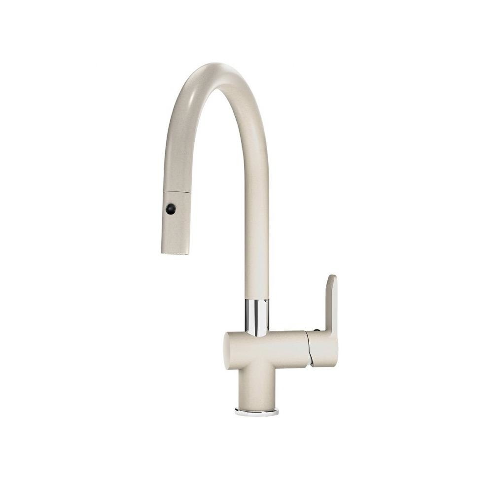 kindred kfpd5505 kitchen faucet pull down spray champagne
