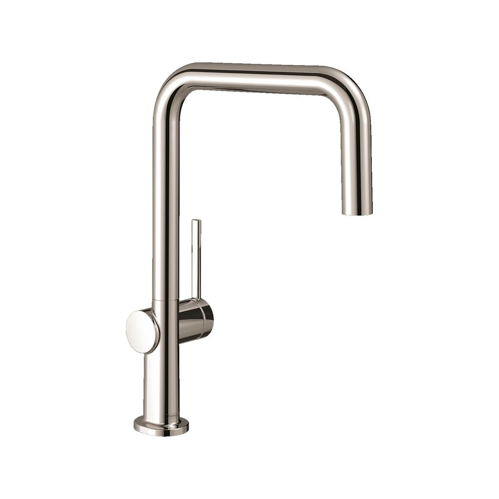 hansgrohe 72806831 talis n pull down kitchen faucet polished nickel
