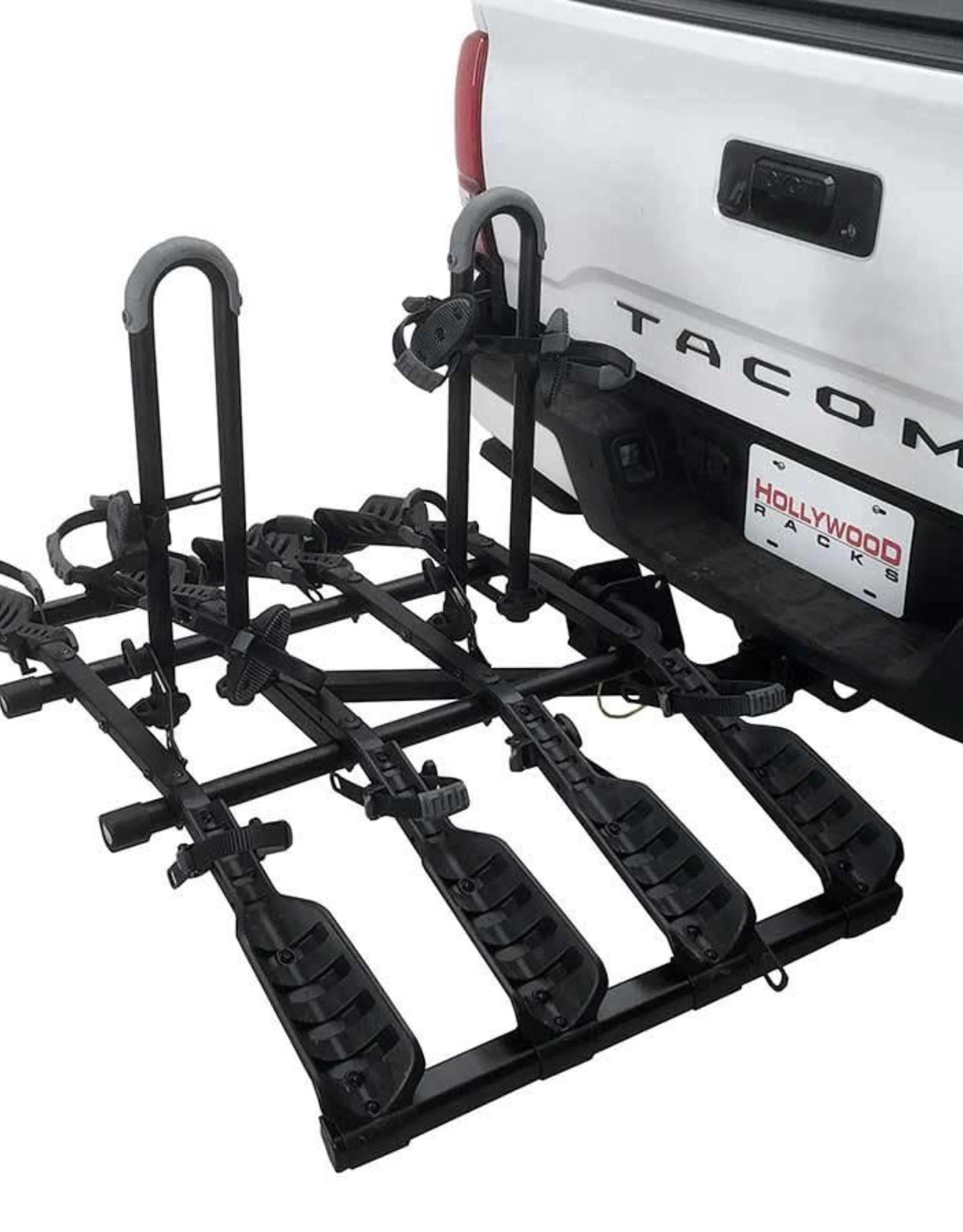 hollywood racks destination hitch mount rack 2 bikes 4