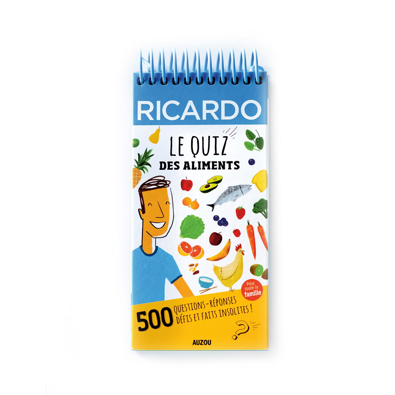 livre pour enfants le quiz des aliments