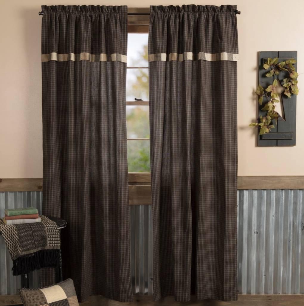 kettle grove lined panels primitive curtains nana s farmhouse