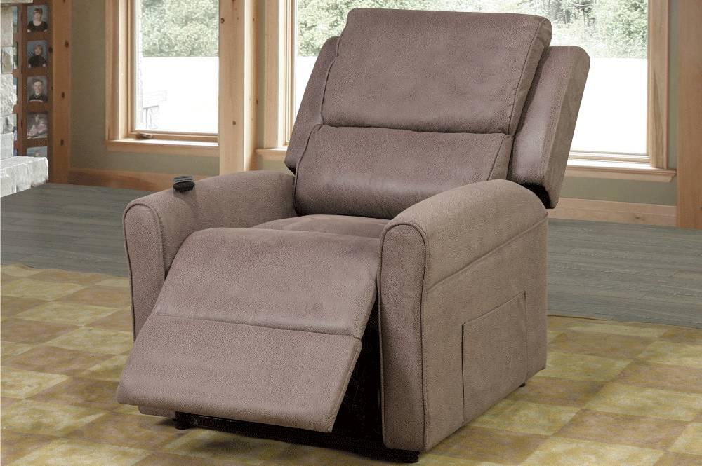 t 1010 fauteuil inclinable elevateur electrique chocolat