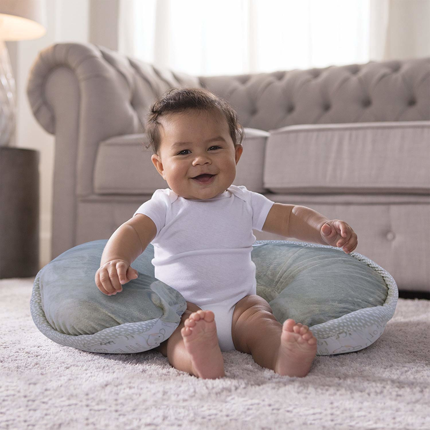 boppy boppy luxe nursing and infant support pillow in store curbside exclusive