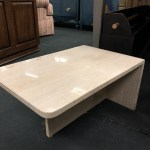 Small Modern Marble Table Shorter Heirloom Home