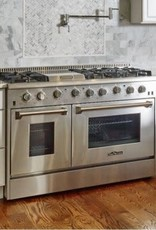 thor thor 48 slide in convection gas range stainless