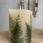 Luminara Battery Operated Fern Candle Shop Flameless Candles The Last Straw