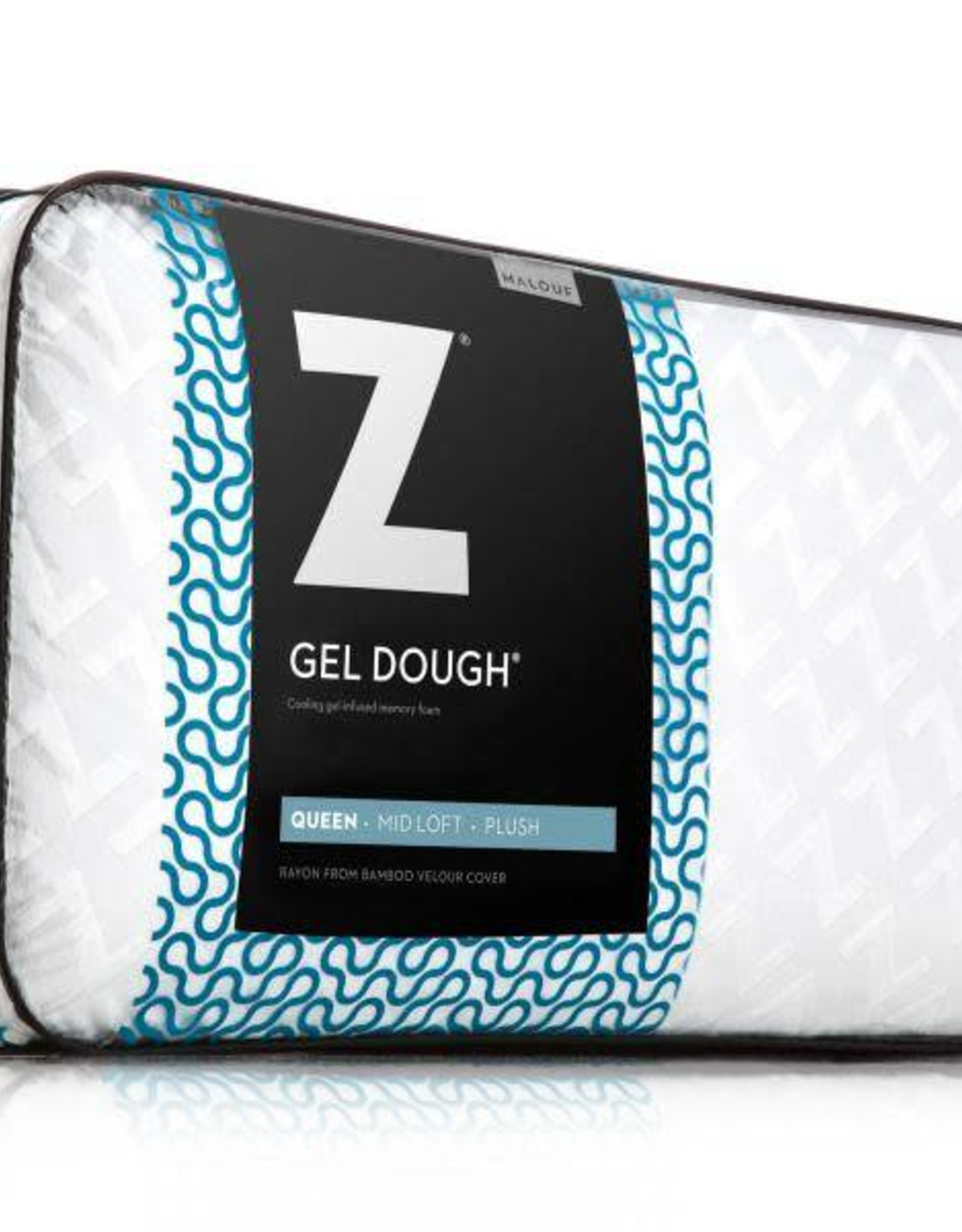 malouf z gel infused dough pillow mid loft