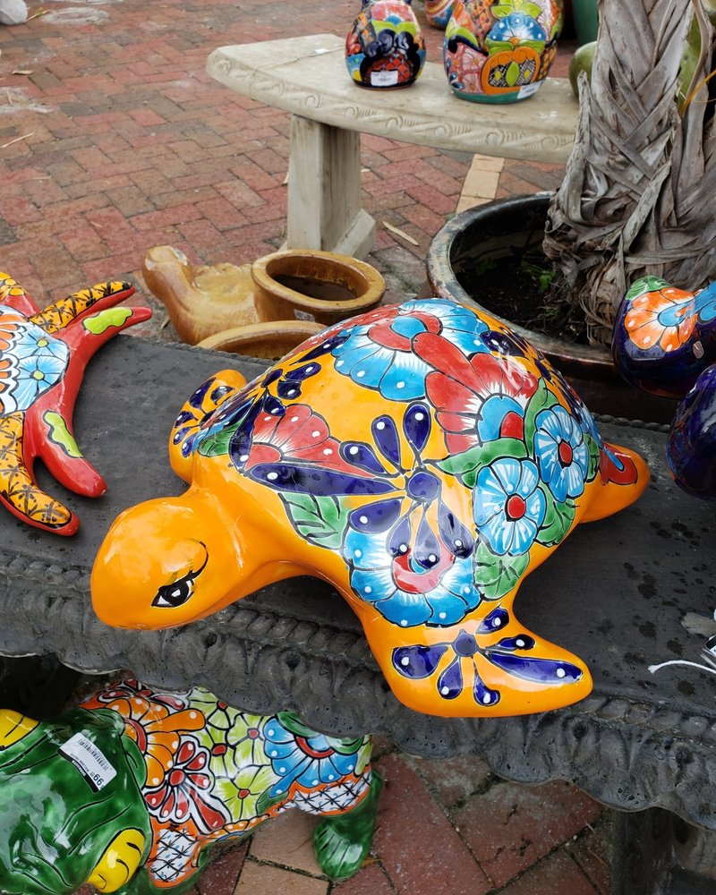 TALAVERA SEA TURTLE XL Pottery As Art
