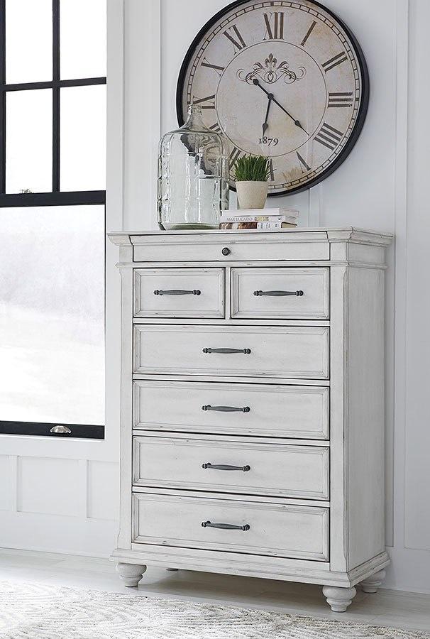 b777 46 c chest 5 drawer kanwyn white