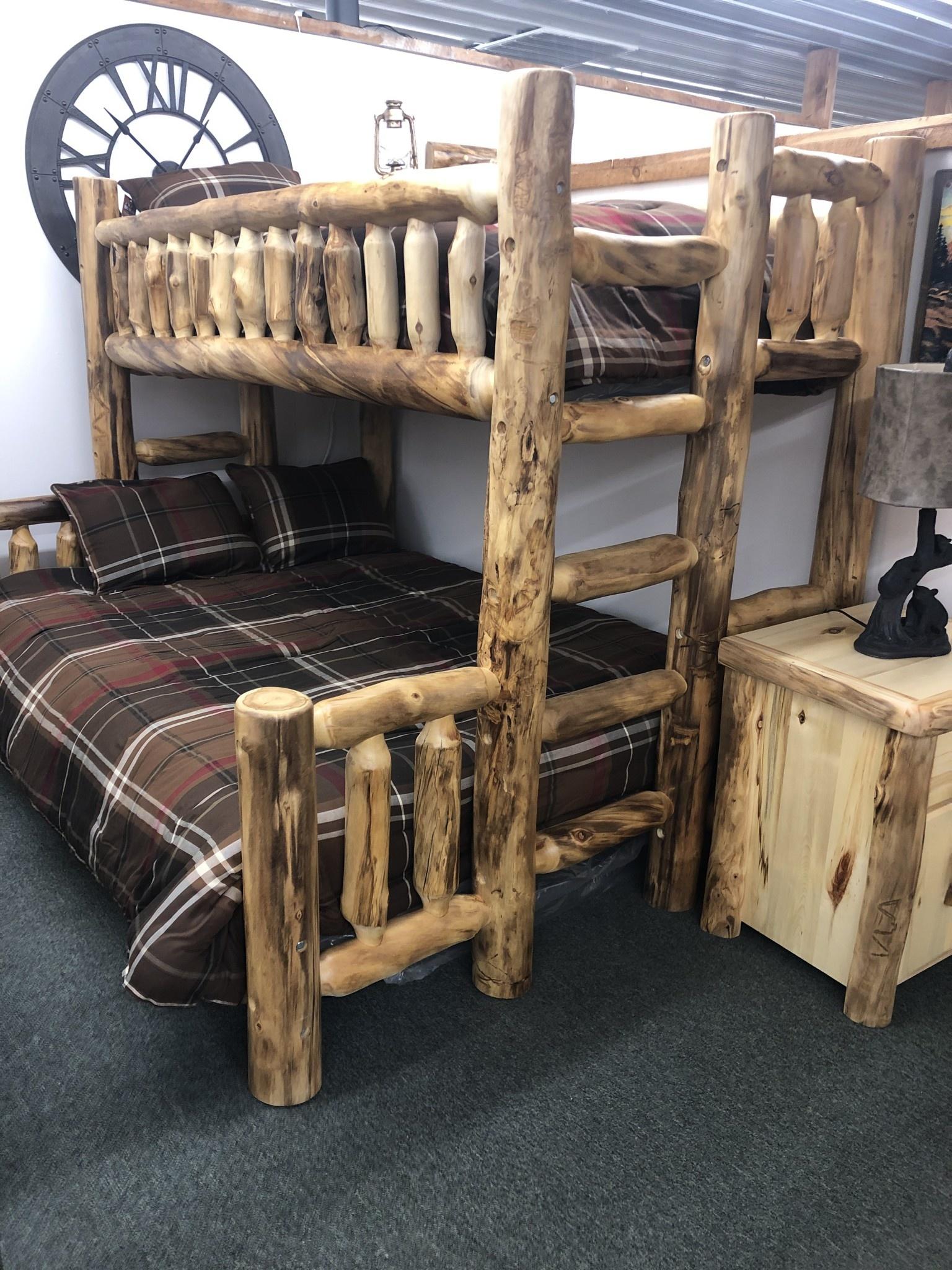 Aspen Twin Queen Bunk Bed Big Bear Furniture
