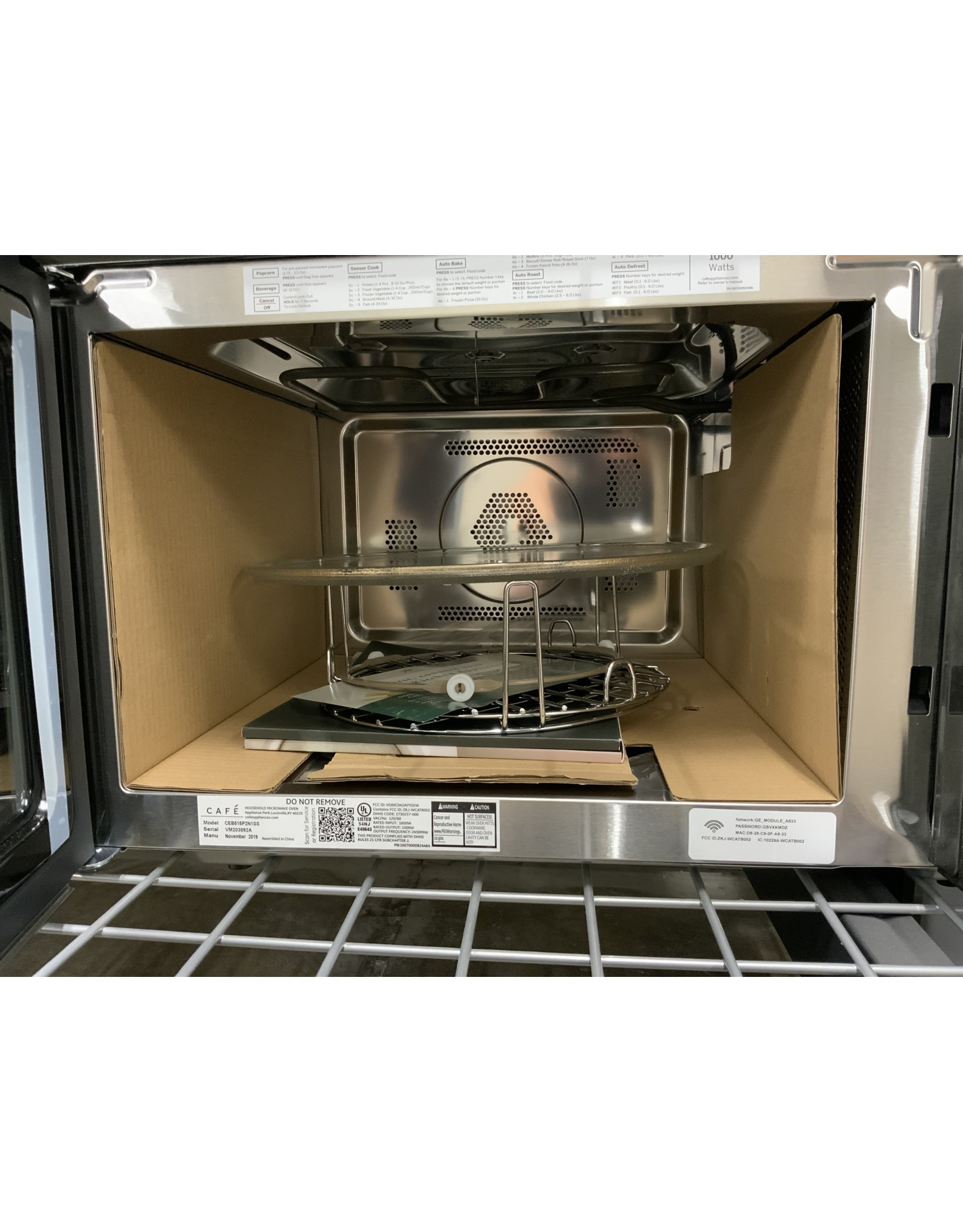 ge cafe ge cafe 1 5 cu ft smart countertop convection microwave oven