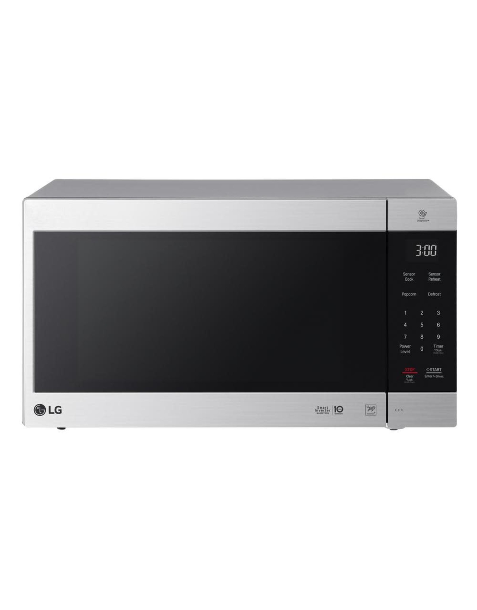 lg electronics lmc2075st neochef 2 0 cu ft countertop microwave in stainless steel