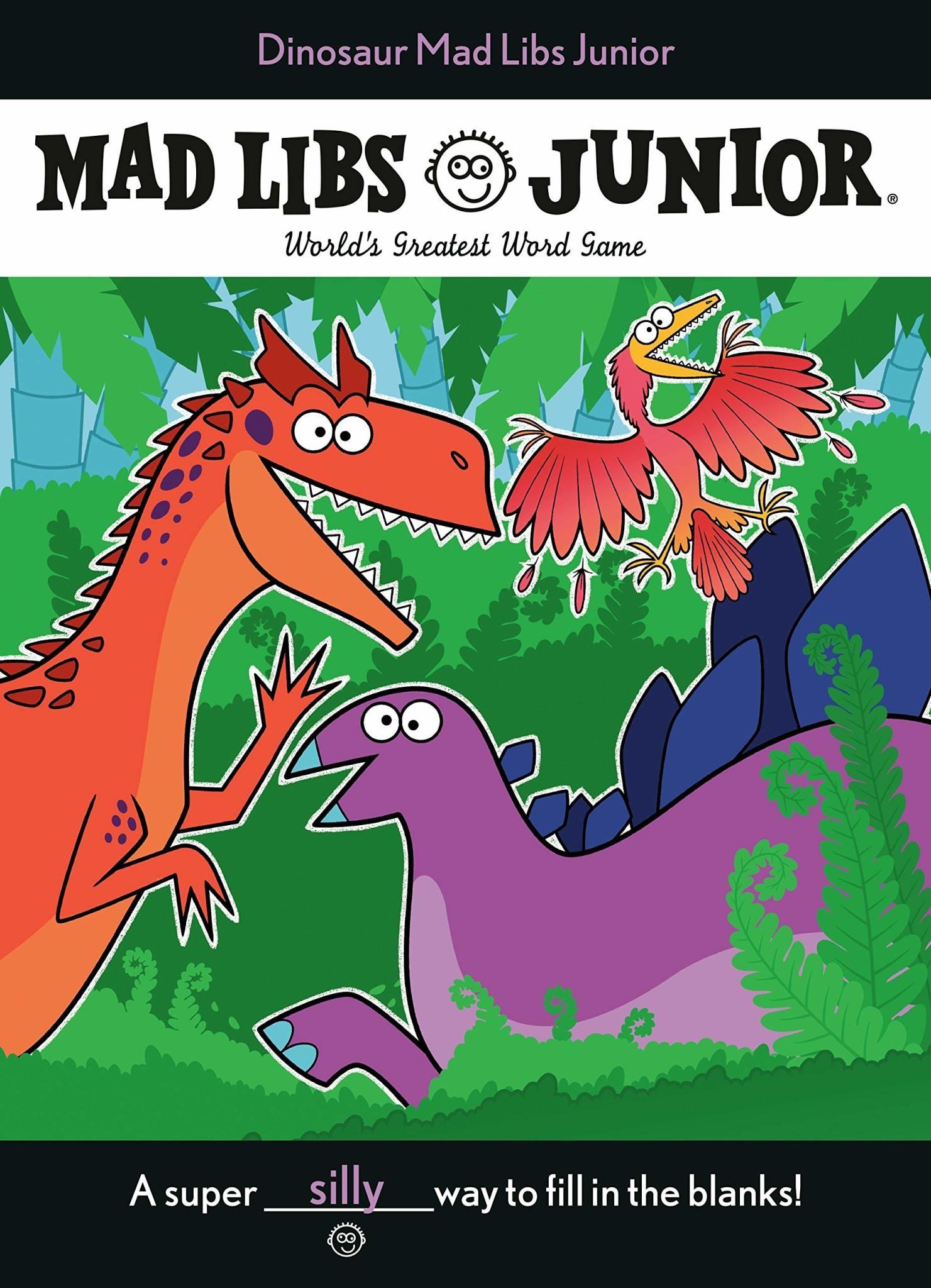 Mad Libs Mad Libs Dinosaur Junior Large Format