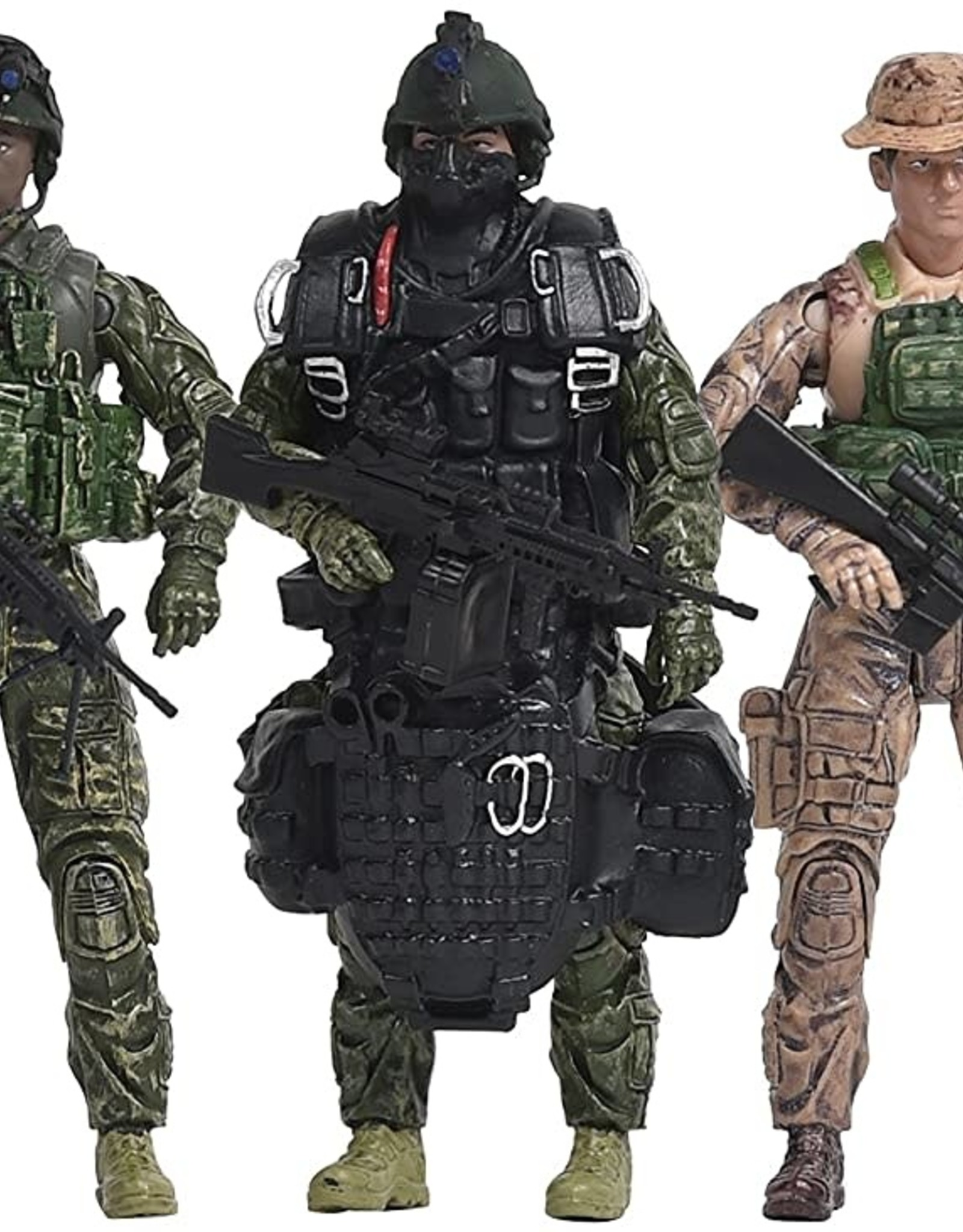 Navy 5 Pack Military Action Figures Lets Play Games Toys