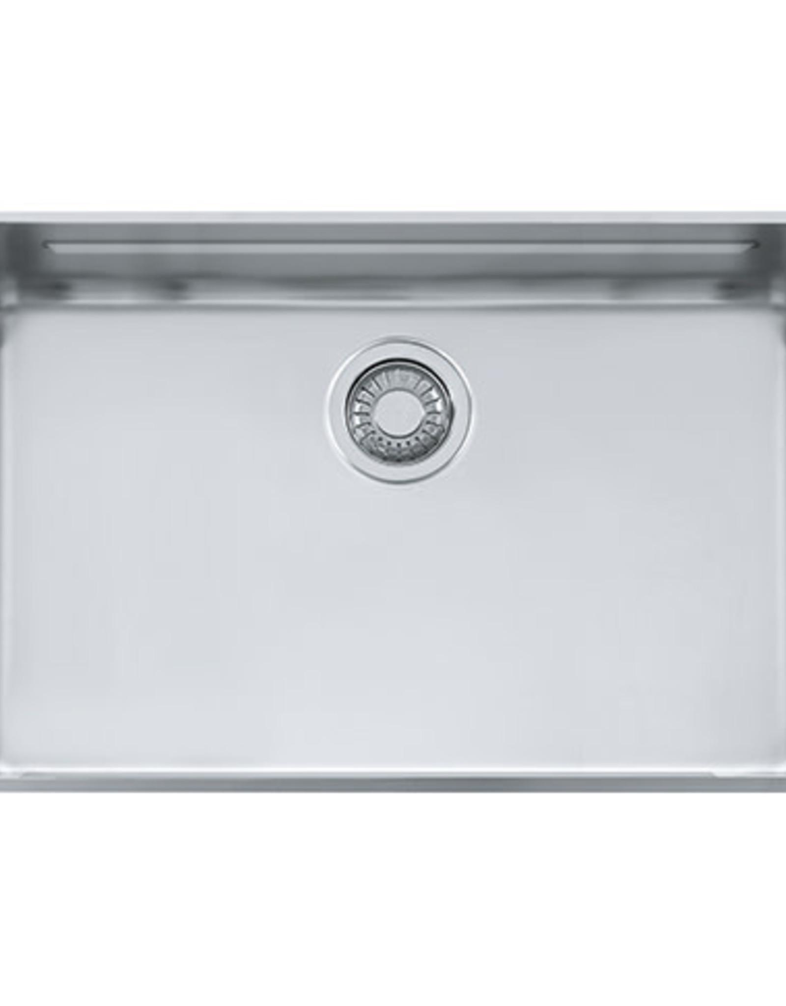 franke franke kubus kbx110 28 stainless steel undermount kitchen sink
