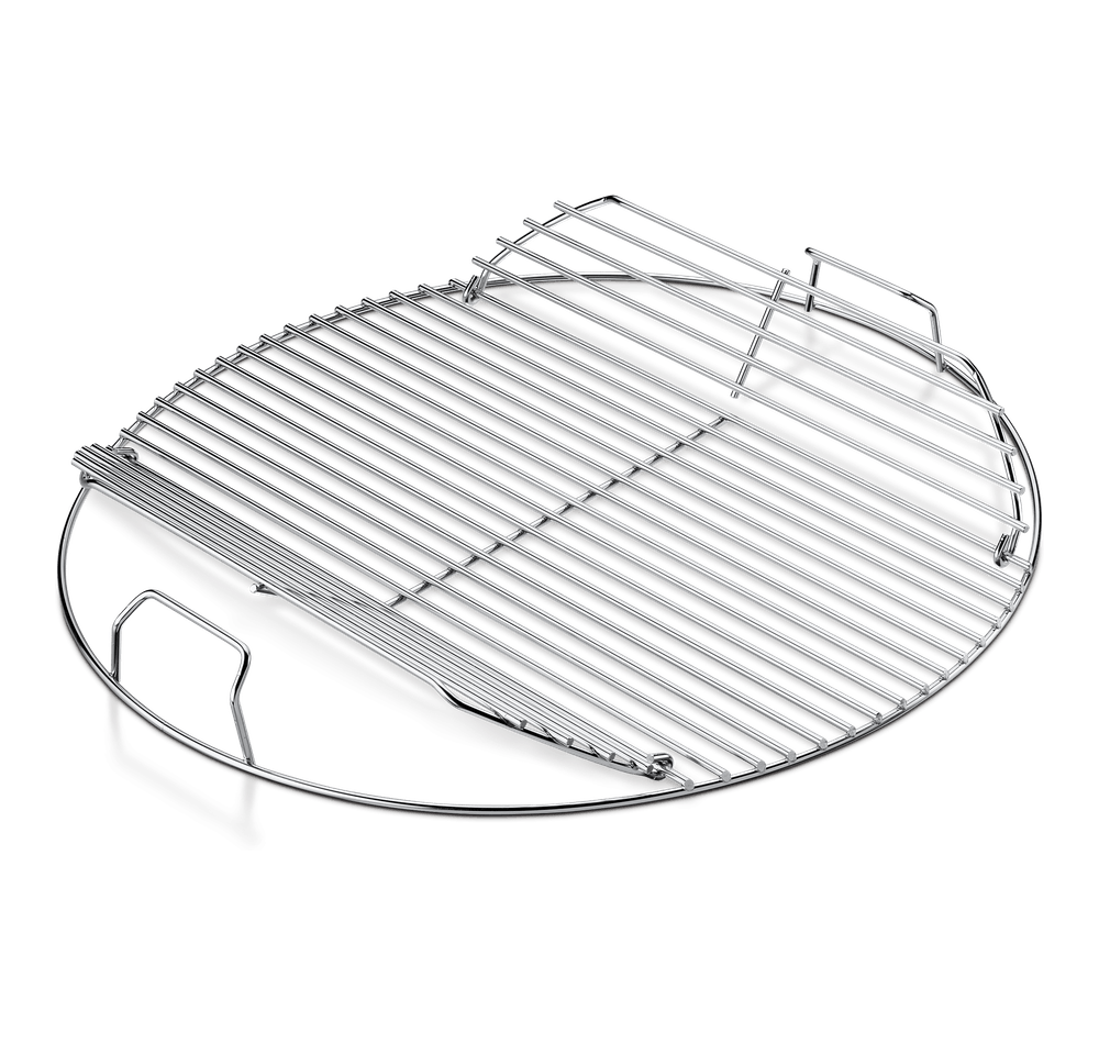 hinged cooking grate fits 22 not smokey mountain cooker smoker