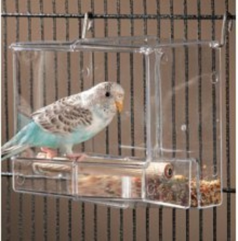 Corral Seed No Mess Bird Feeder Parrot Toy Toys Canary
