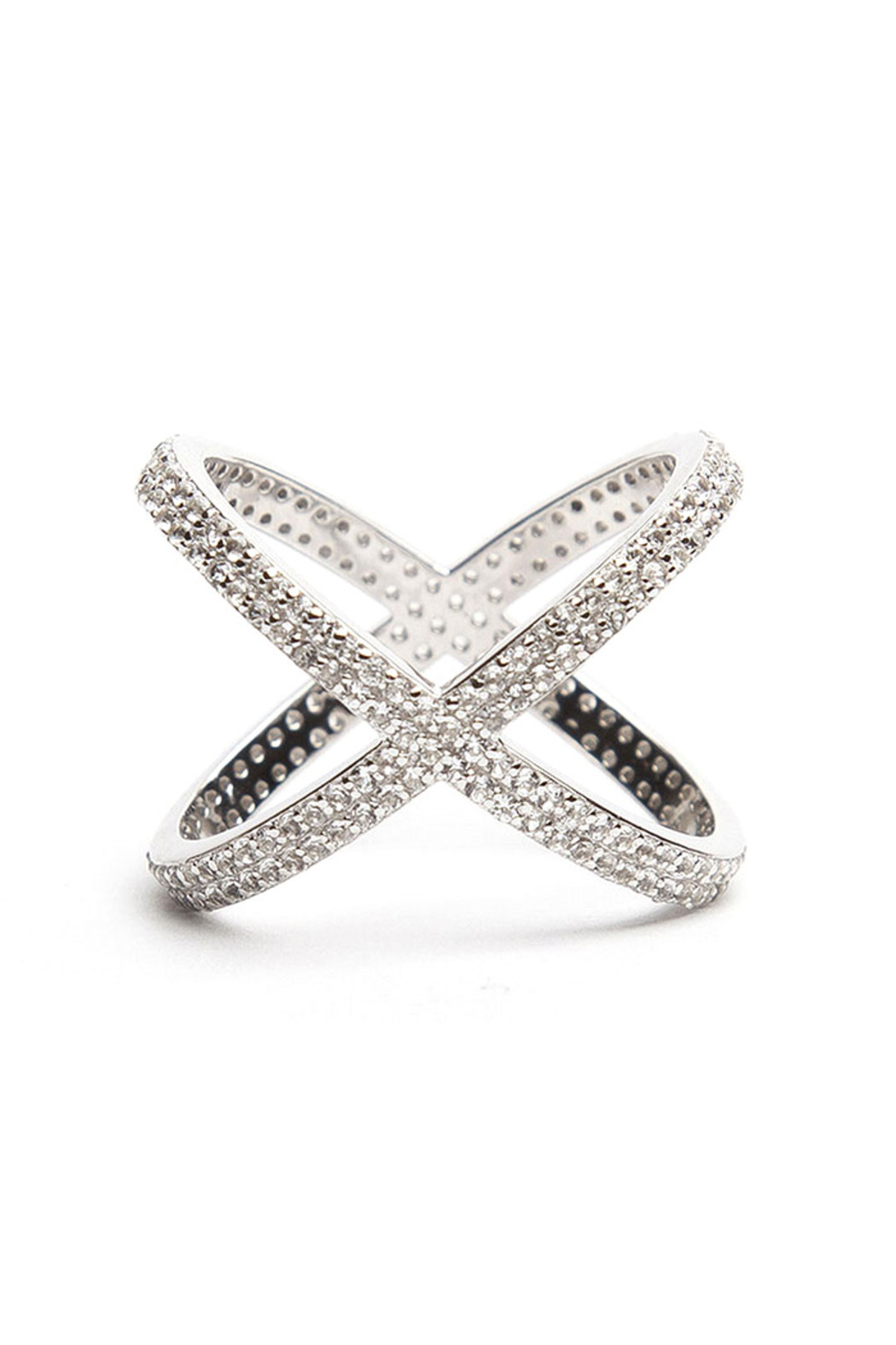 Alex Mika Double Criss Cross Ring From Brooklyn By Millo