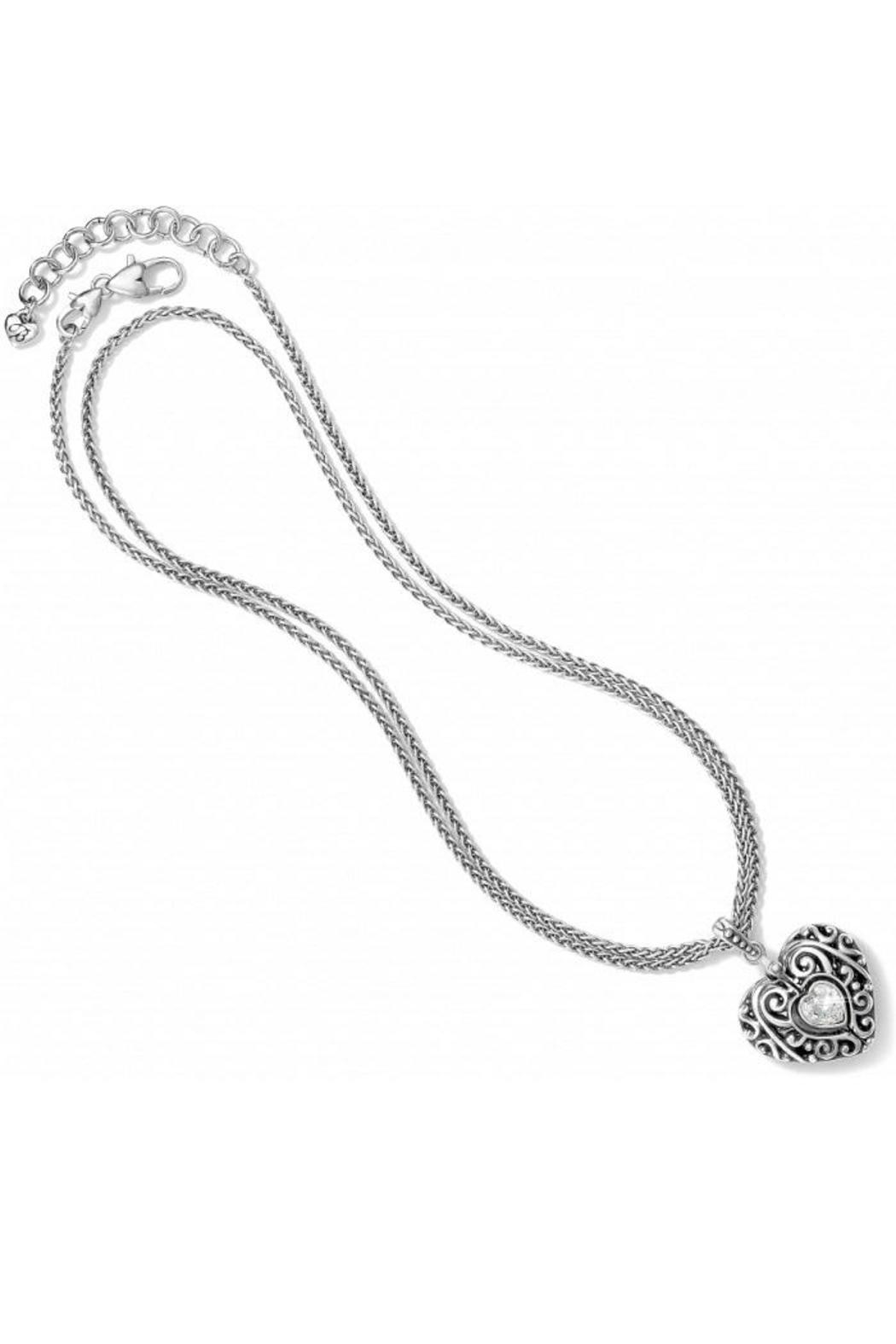 Brighton Heart Lock Necklace From Canada By A Passion For