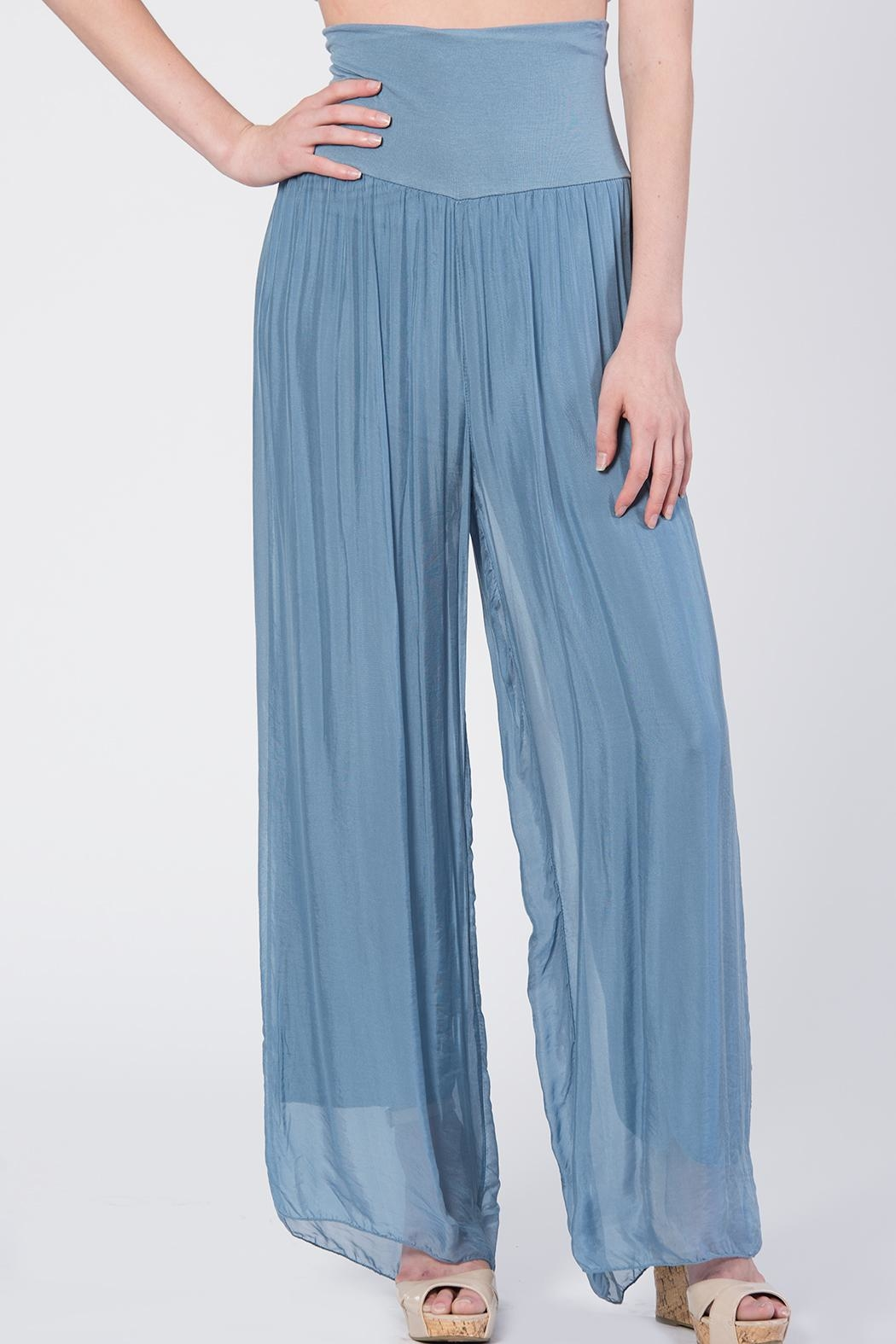 Catwalk Flowy Pleated Pants From Orange County By Blondies