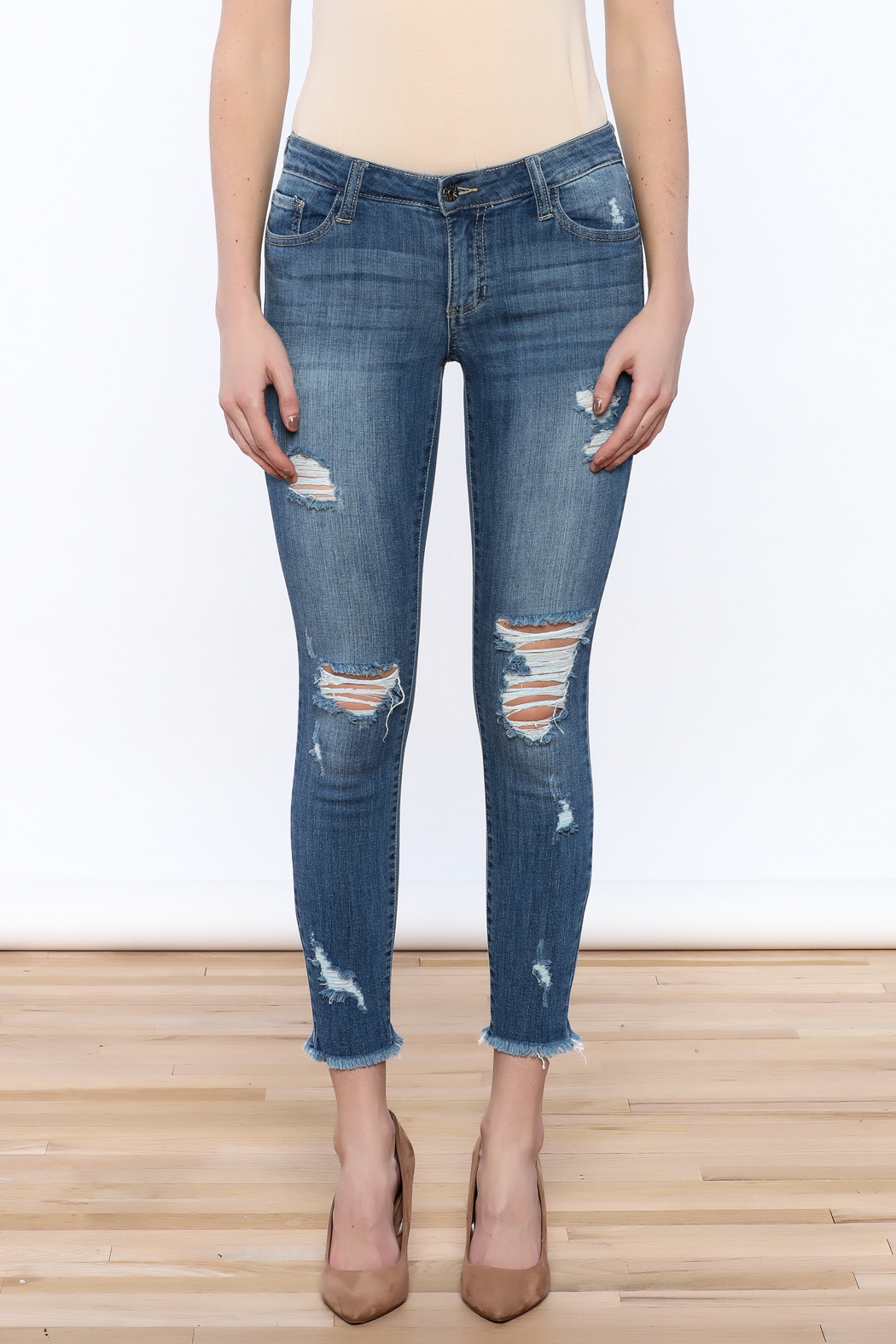 Cello Jeans Crop Skinny Jeans From Long Island By EPIC
