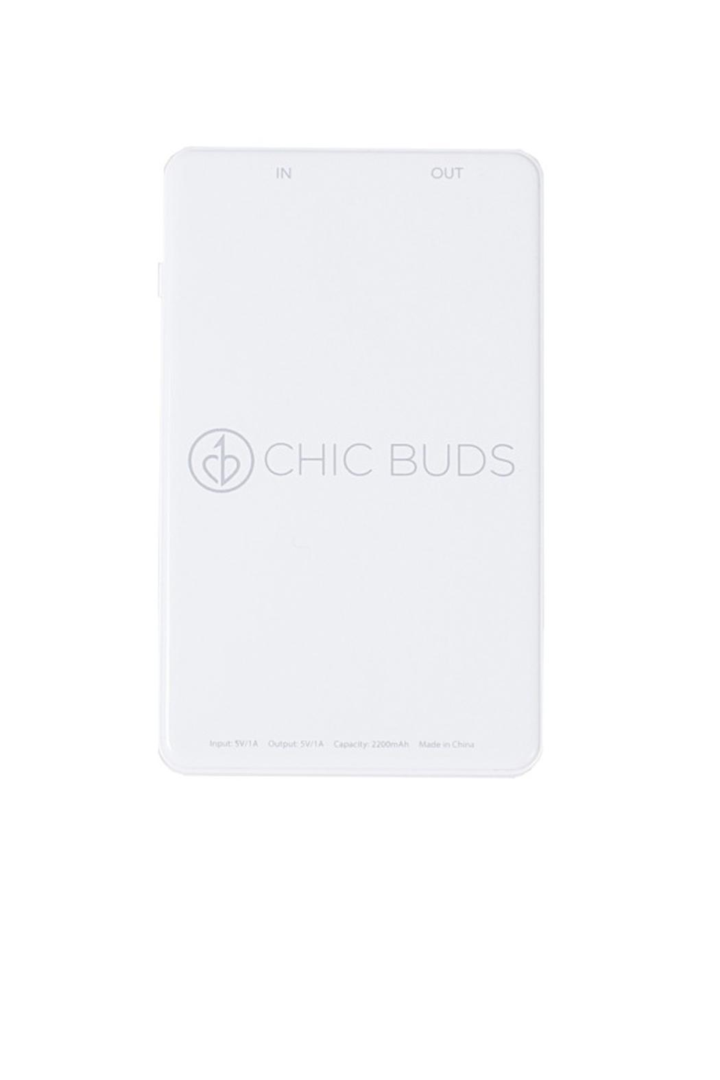 Chic Buds Slim Phone Charger From Orange County By Oc