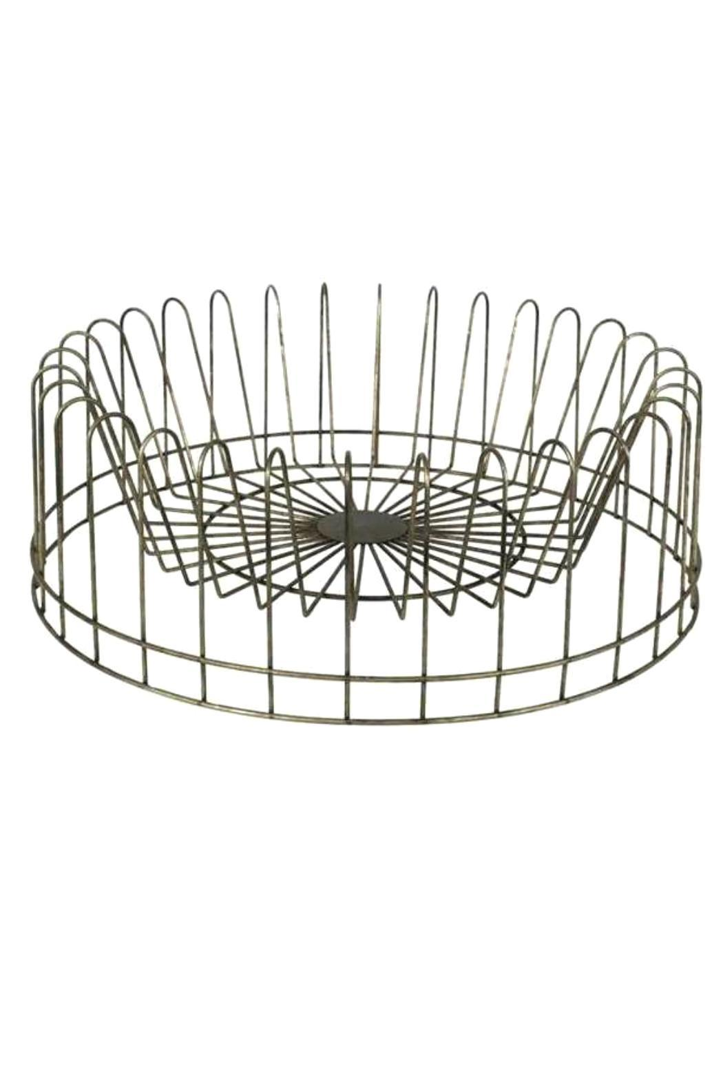 Creative Co Op Inc Round Plate Rack From South Carolina
