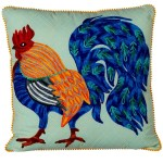Midwest Cbk Embroidered Rooster Pillow From Canada By James Street Home Decor Shoptiques