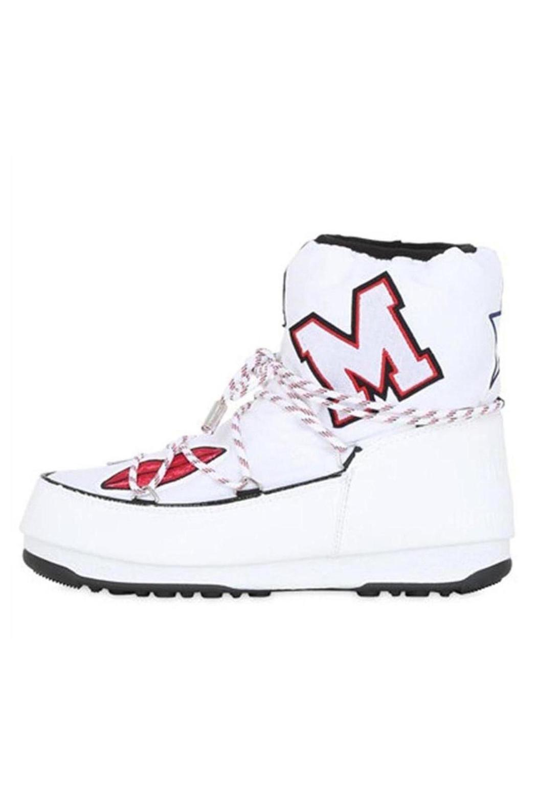 Msgm White Moon Boots From Tel Aviv By Sugar Mama