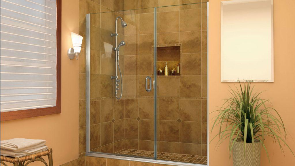 shower curtain v s glass enclosures