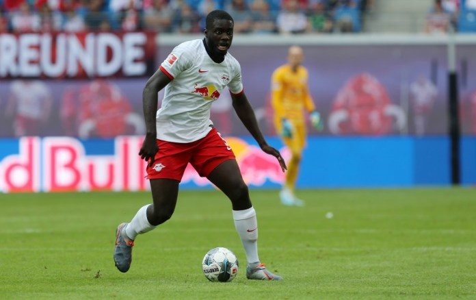 What does the future hold for Upamecano? (Photo by Matthias Kern/Bongarts/Getty Images)