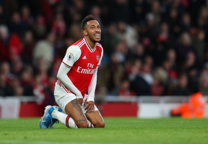 Aubameyang has his heart set on a move to Barcelona. (Photo by Catherine Ivill/Getty Images)