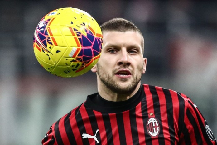 Ante Rebic is back in contention for AC Milan (Photo by Isabella Bonotto/AFP via Getty Images)