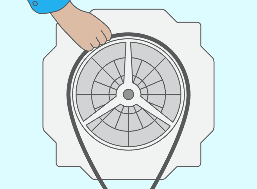 paliers ou roulements de lave linge