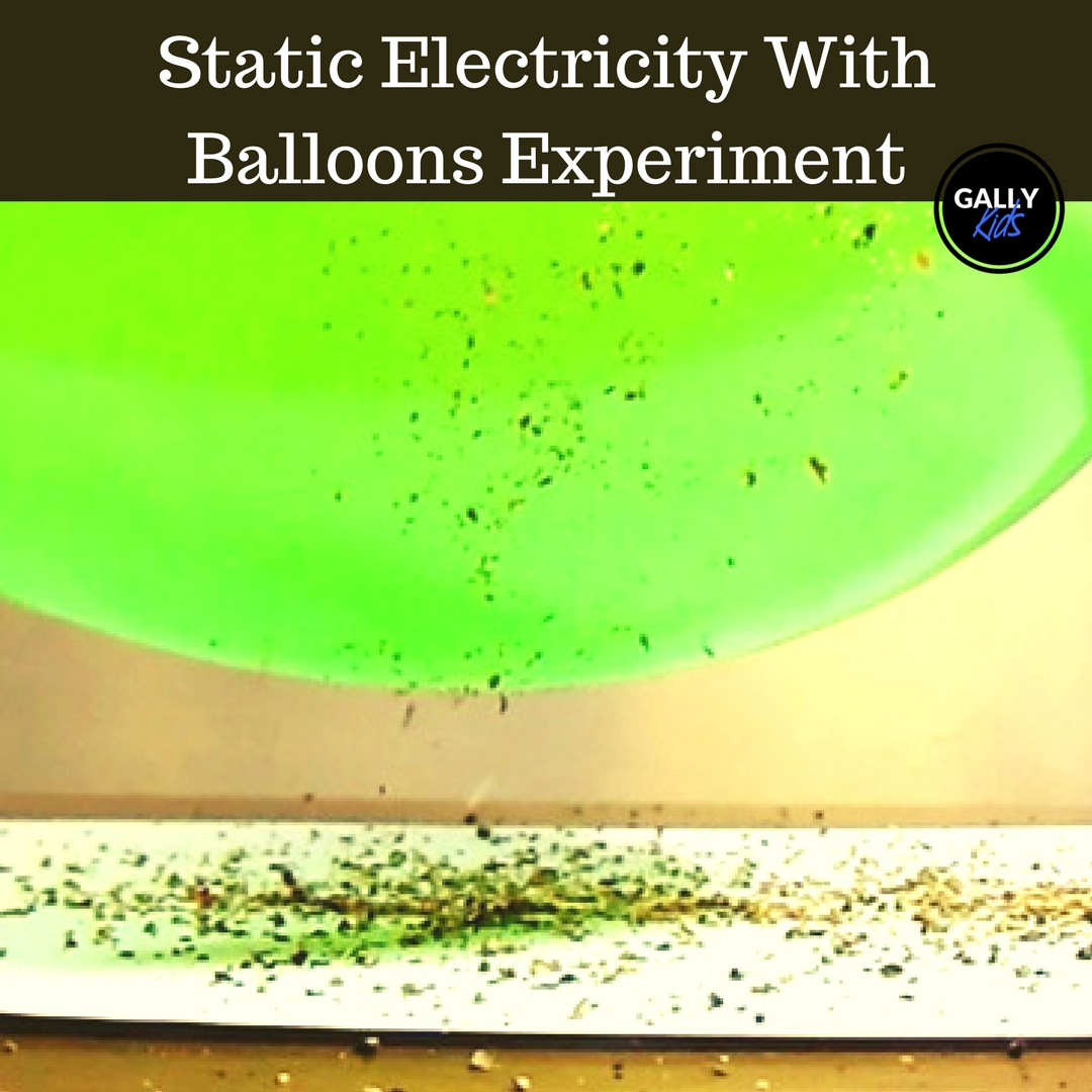 Static Electricity Experiment With Balloons The Jumping