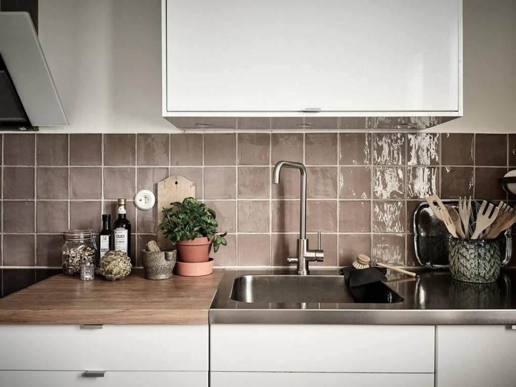 thiết kế nhà bếp tối giản