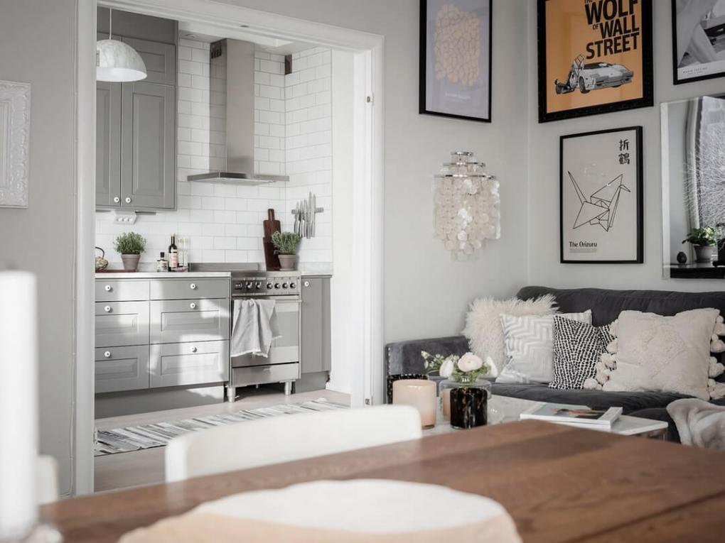 Thiết kế nhà bếp ban đầu