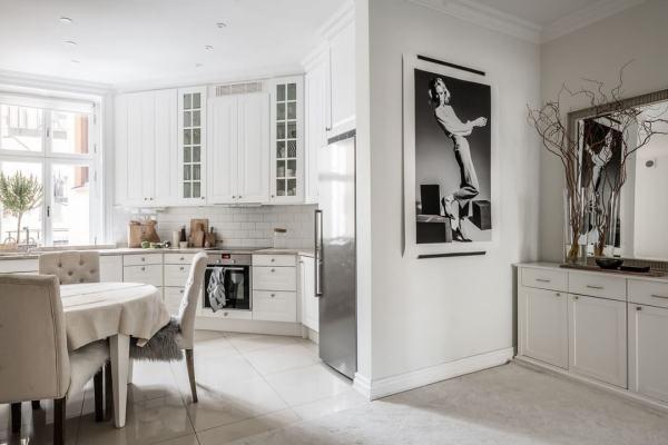 Дизайн кухни-студии с перегородкой: 29 фото в деталях
