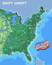 The United Pixels Of America 8 Bit Map Of The Usa Netcredit Blog