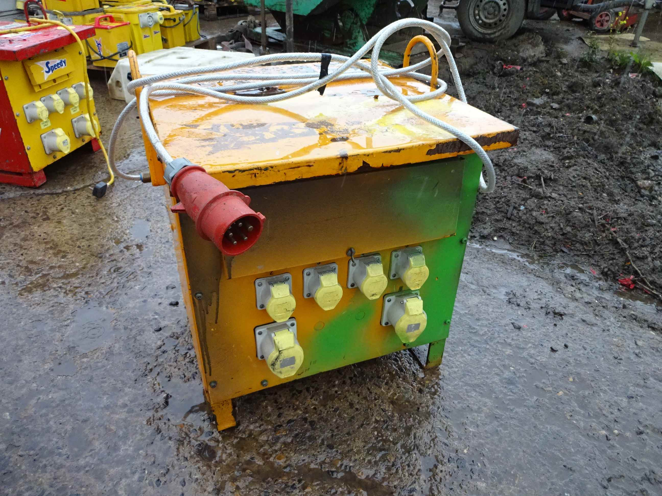 3 Phase To 110v Site Transformer 6 Outlets Bruce Atfield