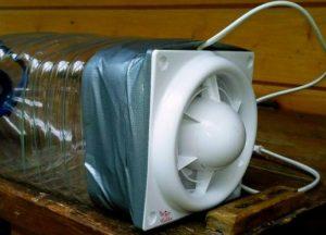 Compresor ventilator de picior