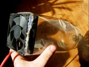 Ventilator de la cooler