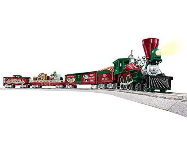 Christmas Train Sets For Under The Tree  Lionel Mickey Holiday Train