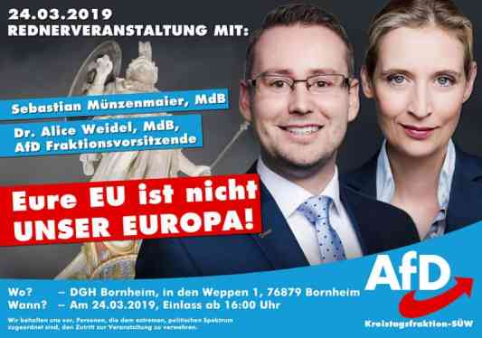 Sebastian Münzenmaier und Alice Weidel