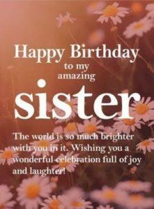 Happy Birthday Sister Funny Wishes Happy Birthday Time